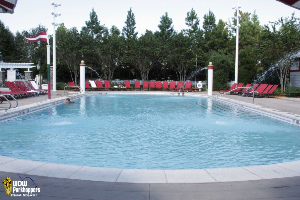 Quiet Pool at Disney's Saratoga Springs Resort at Walt Disney World Resort