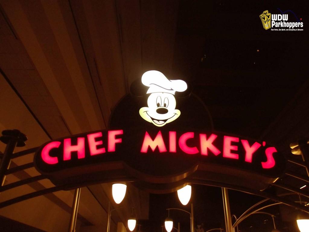 Chef Mickey's at the Contemporary Resort at Walt Disney World