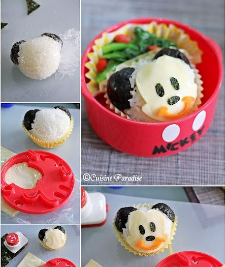 Mickey Mouse Themed Bento Box Meals - WDW Parkhoppers